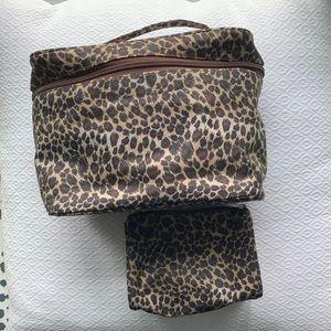 Leopard Toiletries & Cosmetics Bags